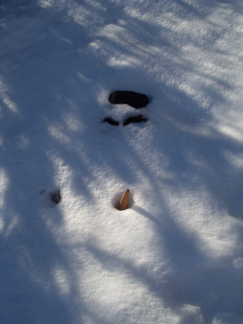 Flat snowman 2